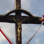 Poświęcenie Krzyża przy drodze Olsztyn-Turów